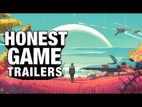 An Honest Game Trailer for No Man s Sky