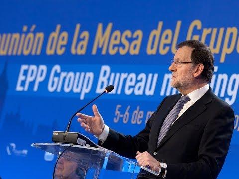 """Rajoy: """"El esfuerzo de los españoles nos ha situado de nuevo en la senda del crecimiento"""""""