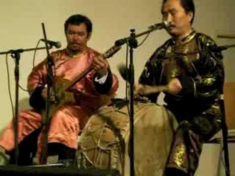 Huun Huur Tu with Michel O'ngaro & Oneko Arika (видео)
