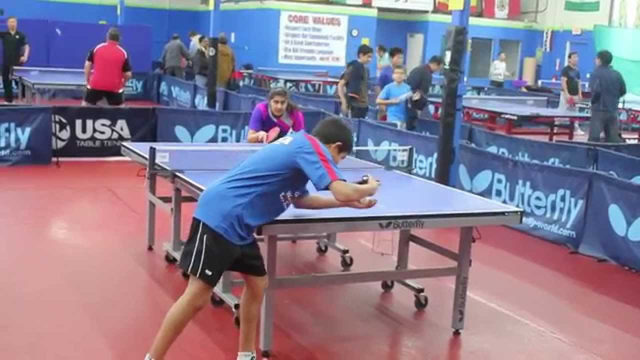 Bay Area teen sibling table tennis stars Prachi Jha and Kanak Jha