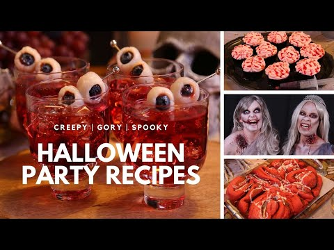 Halloween Party Recipes with How to Cake It | Watch If You Dare