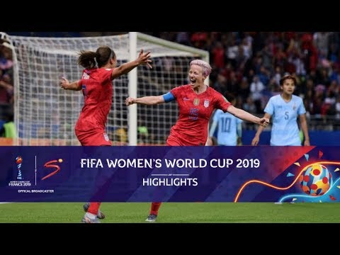 FIFA Women's World Cup | USA vs Thailand | Highlights