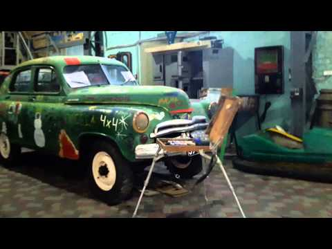 по Днепропетровску музей \Машины времени или назад в СССР\ретро машины и даже их продажа