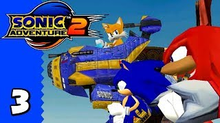 Sonic Adventure 2 [Part 3 - The Eggs Built the Pyramids] | Hero Story