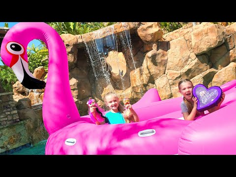 Opening New Trinity and Beyond Characters and VIP Pets in World's Biggest Flamingo!!!