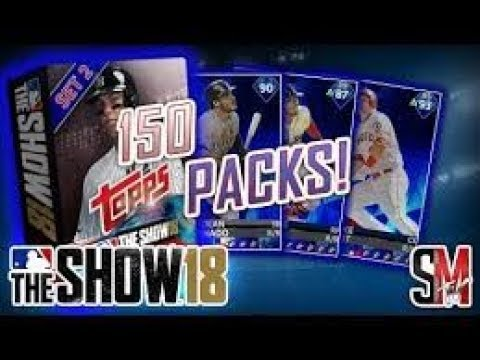Mlb 18 the show 150 pack opening we pulled a diamond and mothers day cleats