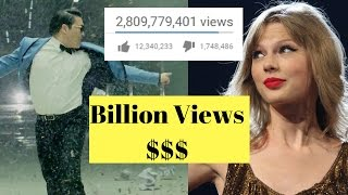 There is a list of Top 10 Most Viewed YouTube videos and their Earning of all time in 2017. In this list you can see which video has Billion views and how mu...