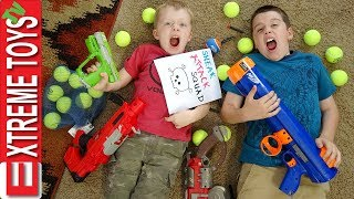 Video Extreme Toys Shorts: Ethan and Cole Sneak Attack Squad Nerf Bazooka Blast! MP3, 3GP, MP4, WEBM, AVI, FLV Juni 2019