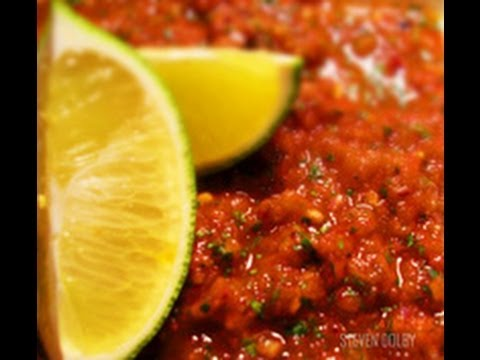 Mexican Recipe: How to Make a Fresh Mexican Salsa