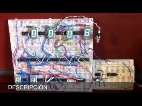 Como hacer un reloj digital