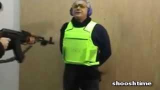 How Italians Test Bullet Proof Vests