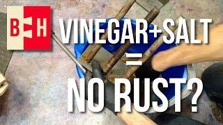 Video Removing Rust with Vinegar and Salt MP3, 3GP, MP4, WEBM, AVI, FLV Februari 2019