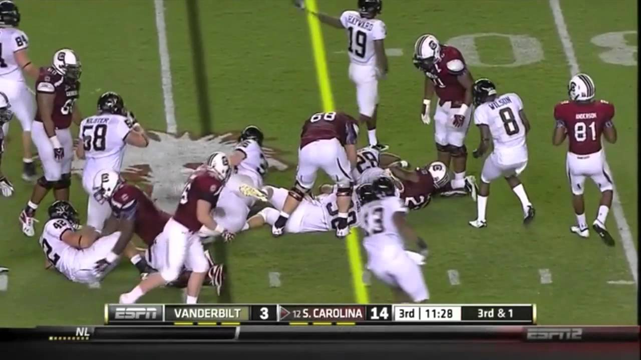 Chris Marve vs South Carolina 2011