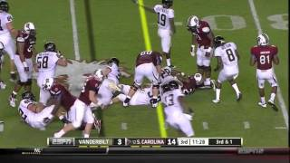 Chris Marve vs South Carolina 2011