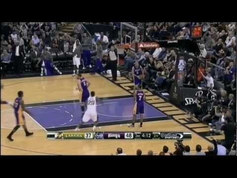 [4.26.12] Terrence Williams - Huge One Handed Slam Vs Lakers