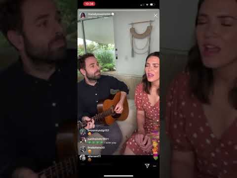 """Mandy Moore - """"Only Hope"""" Instagram Live"""