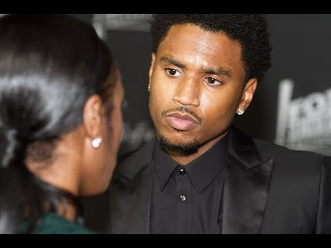 Trey Songz CHECKS Female Host For Dissing Chris Brown | Throwback Hip Hop Beef