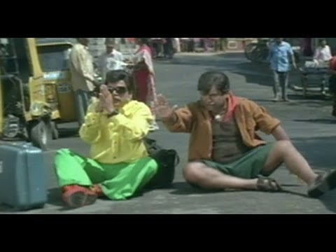 Nuvvu Vastavani Comedy Scene | Brahmi Making Fun Of An Innocent Guy