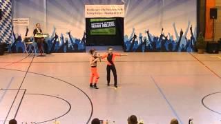 Antonia Schmid & Julian Minks - Nordbayerische Meisterschaft 2015