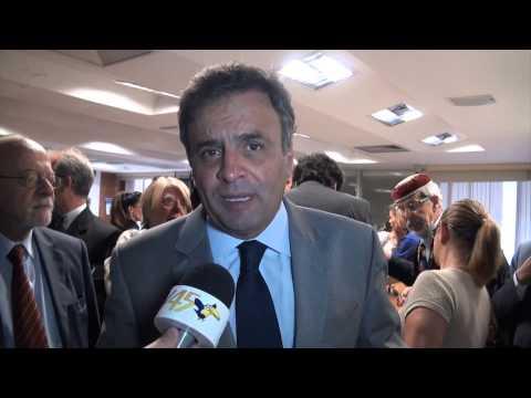 Aécio Neves fala sobre o Portal Social do Brasil