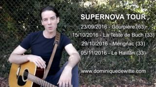 Dates de tournée - SUPERNOVA TOUR 2016