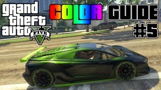 Nonton GTA V - Ultimate Color Guide #5 | Best Colors Combos for Zentorno Film Subtitle Indonesia Streaming Movie Download