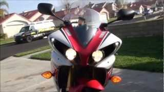 9. 2012 Yamaha R1 50th GP Edition Quick Review.wmv