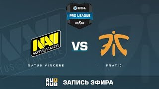 Na'Vi vs fnatic - ESL Pro League S6 EU - de_mirage [yXo, Enkanis]