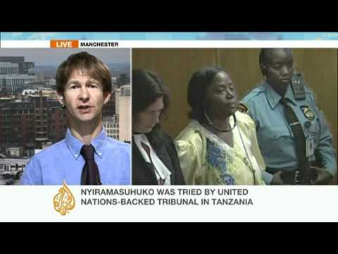 Rwandan woman sentenced for genocide