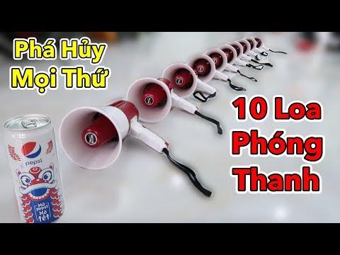 Lâm Vlog - Phá Hủy Mọi Thứ Bằng Loa Phóng Thanh | Breaking Glass With Megaphones - Thời lượng: 10 phút.