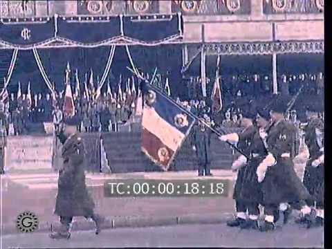 1962  AU HAVRE, LES FUNÉRAILLES DE RENE COTY.