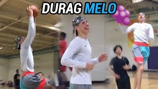 DURAG MELO Is Back In The Gym Looking Tall AF! Talks Trash and BATTLES vs Gelo! FULL HIGHLIGHTS 🚀