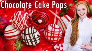 Salted Caramel Chocolate Cake Pops by Tatyana's Everyday Food