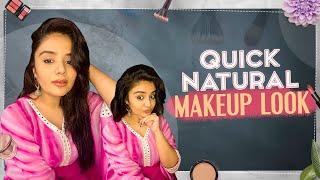 Quick Natural Makeup Look | Sreemukhi Latest Video | Latest Makeup Videos