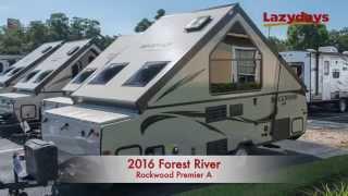 2016 Forest River Rockwood Premier A Video Tour