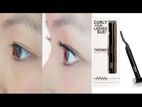 Drama Lashes within 1min? - Backstage Thermo Wimpernformer