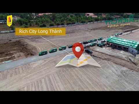Tiến độ xây dựng Rich City Long Thành giai đoạn F1 3/2019