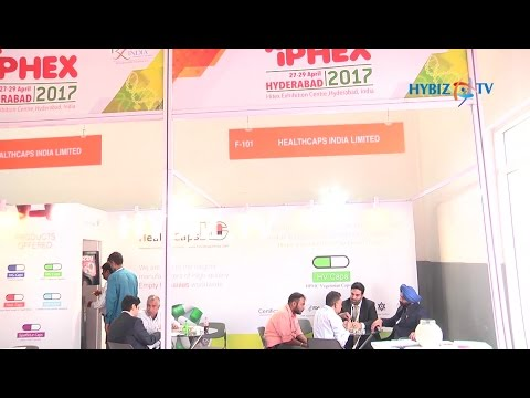 , HeathCaps India-IPHEX 2017 Exhibition Hitex