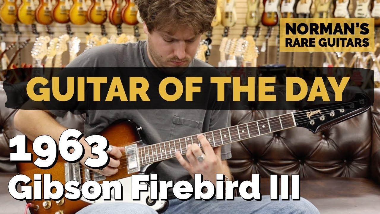 Guitar of the Day: 1963 Gibson Firebird V   Norman's Rare Guitars