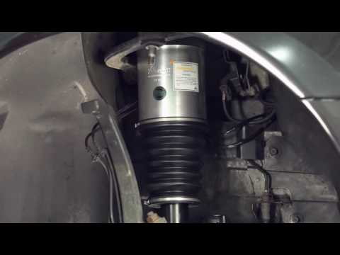 How to replace the Front Strut on Mercedes-Benz® W220 with Airmatic® & 4MATIC®
