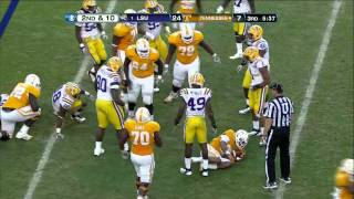 Brandon Taylor vs Tennessee and West Virginia (2011)