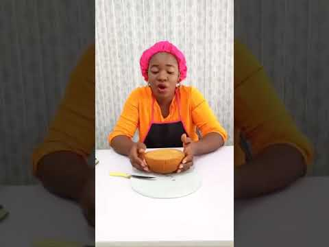 How To Decorate A Calabash Cake