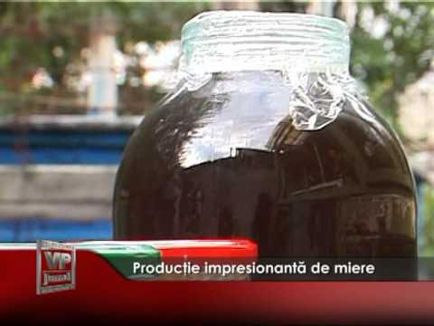 Producţie impresionantă de miere