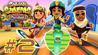 ►Gameplay #3http://bit.ly/2uLn3mDSubway Surfers: Marrakesh (2017)►Game InfoFollow Jake and the crew on the World Tour to Morocco. Dash through hot deserts and secret gardens in magnificent Marrakesh. Team up with Salma the mysterious snake charmer and unlock her Nomad Outfit. Strike through the Subway on the stunning Cobra board. Pick up colorful tajines on the tracks to win great Weekly Hunt prizes.►Subway Surfers Google Play Store: http://bit.ly/TYbZPNOfficial Site: http://bit.ly/1QJffHu►Support Pharmit24 by Donating PayPal: http://bit.ly/1LdfDx2►Pharmit24's Other GalaxiesFacebook: http://facebook.com/Pharmit24Google+: https://plus.google.com/+IIPharmit24IITwitter: http://twitter.com/Pharmit24Instagram: http://instagram.com/Pharmit242nd Channel: http://youtube.com/iiPharmitii►Intro Made byhttp://fiverr.com/gundude500►Intro MusicAero Chord - Surface~Pharmit24~