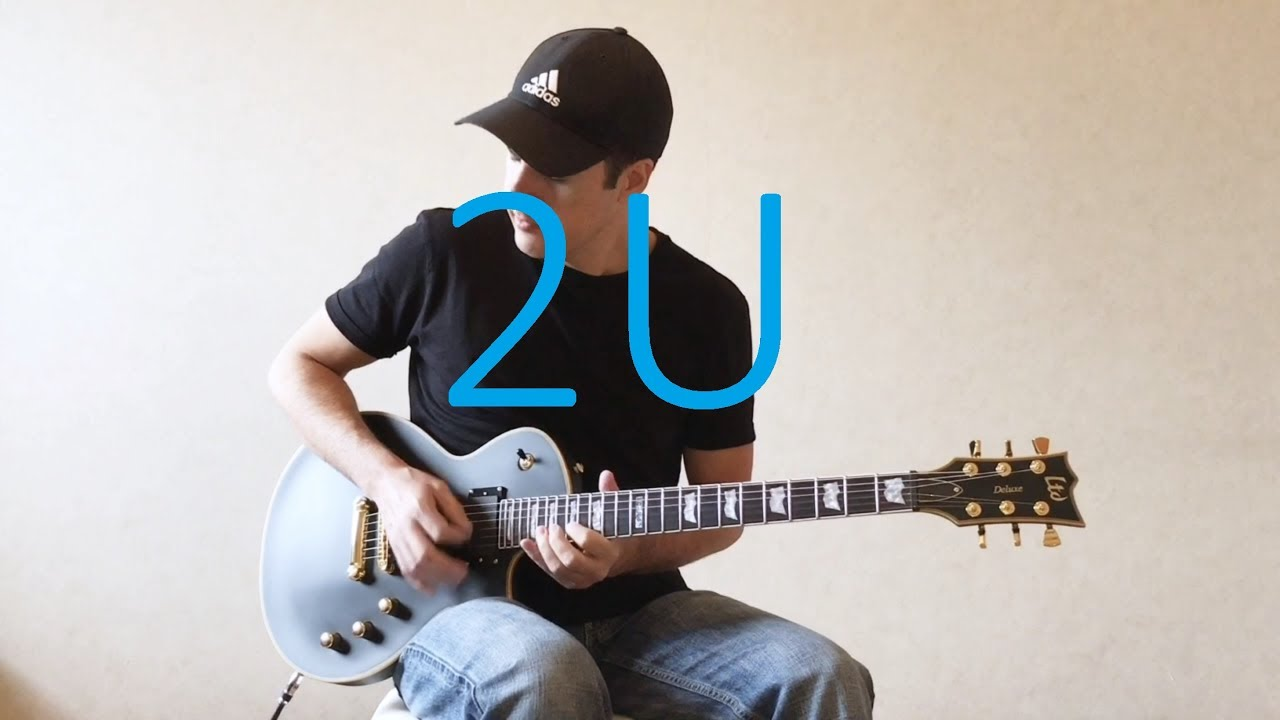 David Guetta ft Justin Bieber – 2U – Electric Guitar Cover (with TABS)