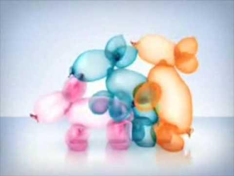 anuncio globos durex - durex balloons + tomas extra