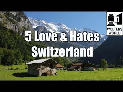 Switzerland - http://www.woltersworld.com Wandering the Alps, Canyoning in Interlaken, Eating Fondue & Chocolate, there is so much to love about visiting Switzerland as a ...