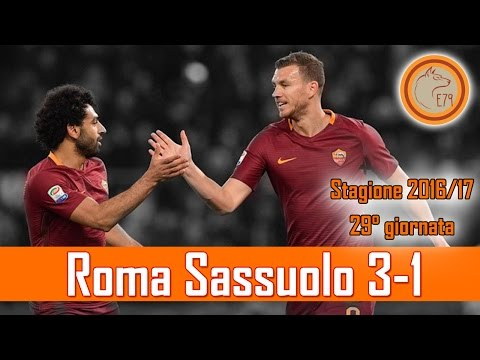 Roma Sassuolo 3-1