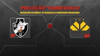 No vídeo de hoje os números e as expectativas para o confronto entre Criciúma e VASCO DA GAMA pela 37ª rodada do campeonato brasileiro da série B de 2016. cu...