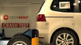 Crash test trasero Seat Alhambra